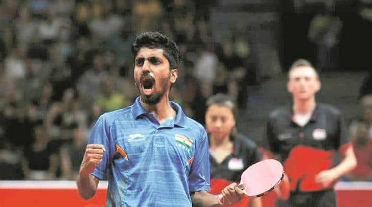 G Sathiyan, G Sathiyan table tennis, G Sathiyan ranking, G Sathiyan Asian Cup, sports news, Indian express