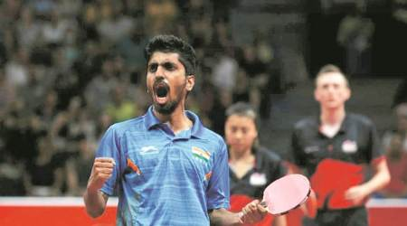 G Sathiyan, G Sathiyan table tennis, G Sathiyan ranking, G Sathiyan Asian Cup, sports news, Indian express