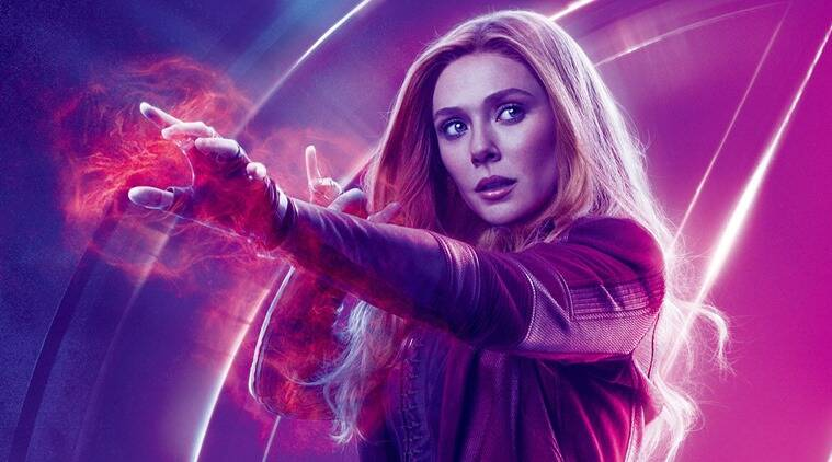 scarlet witch elizabeth olsen marvel