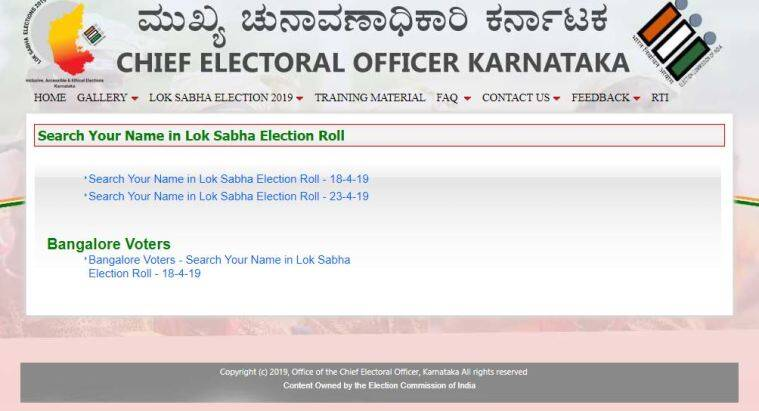 Elections 2019: How to Check Name in Voter List in Bangalore for Lok
