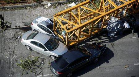 Four dead, three wounded after construction crane collapses in Seattle