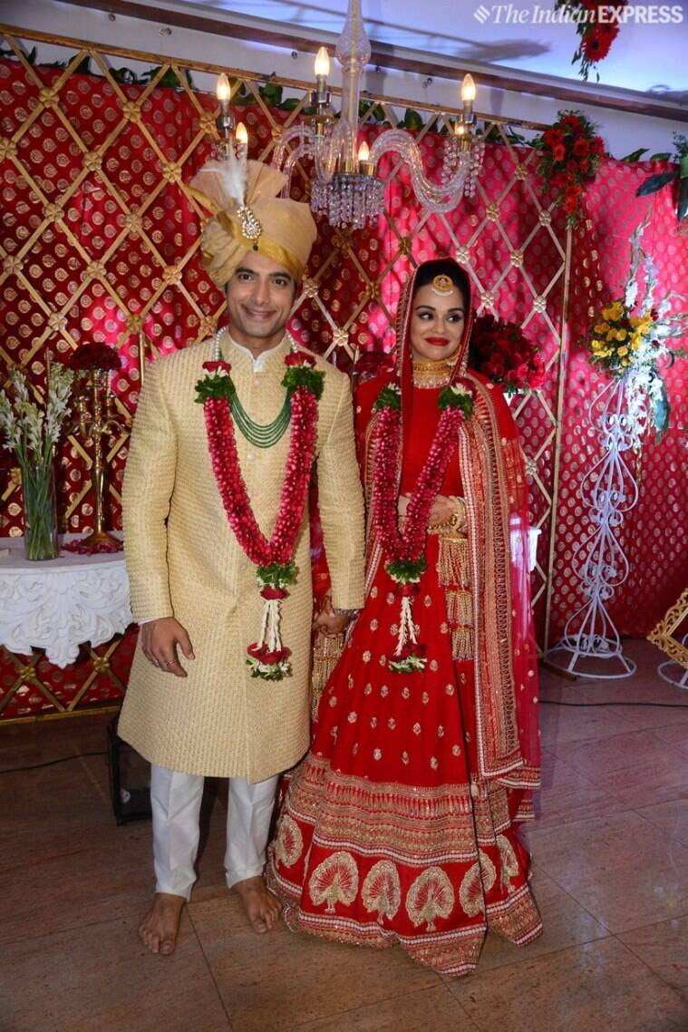 Ssharad Malhotra ties the knot with Ripci Bhatia ...