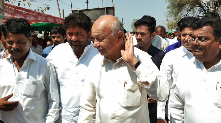 Beaten on his home turf, Sushil Kumar Shinde reinvents himself, gets up close with voters, keeps security men at bay