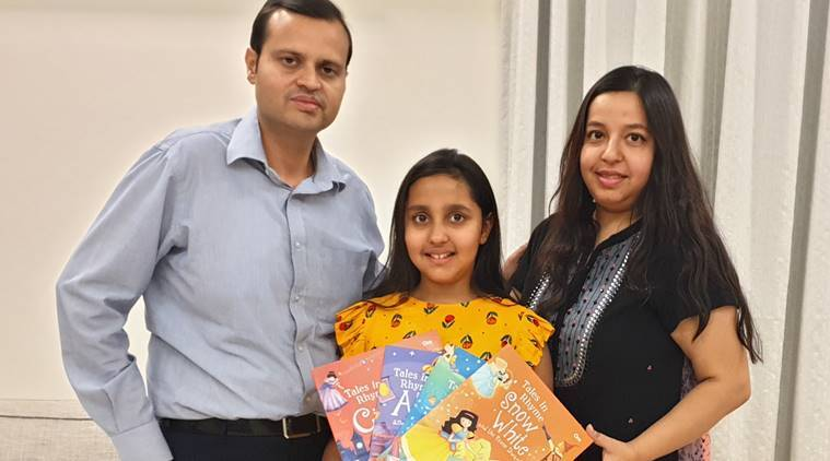 Meet Sia Gupta, Who Wrote 4 Books Of Fairy Tales In Verse At The Age Of 9