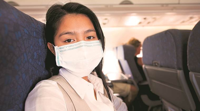Do airplanes put you at extra risk of catching disease germs?