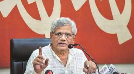 Lok Sabha elections 2019: Yechury hints at 'understanding between TMC, BJP' in Bengal