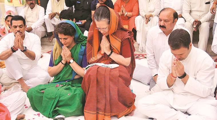 Ready to sacrifice everything to safeguard country's values, says Sonia Gandhi