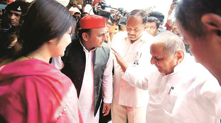 Akhilesh Yadav, SP chief, mulayam singh yadav, UP lok sabha polls, lok sabha elections 2019, election news, lok sabha elections, lucknow lok sabha polls,