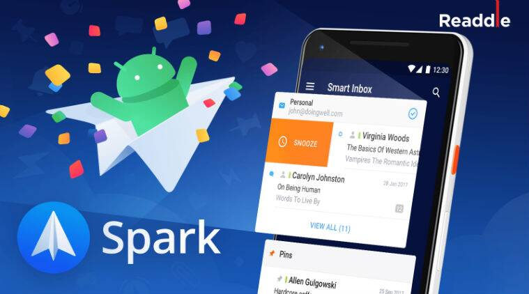 spark, spark email, spark email app, spark mailing app, spark for android, spark android debut, gmail, inbox by gmail, inbox, spark mail app, spark for ios, spark for inbox