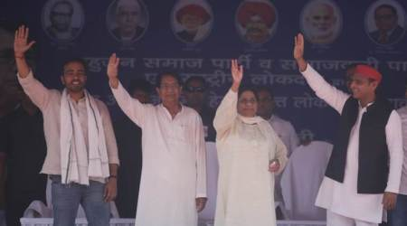 mayawati, mayawati rally, mayawati rally in deoband, sp bsp rld rally, UP rally, Congress, BJP, NYAY scheme, Rahul Gandhi, Narendra Modi, lok sabha elections, election news