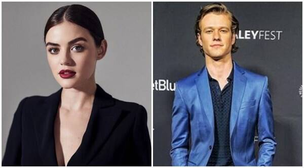 Lucy Hale and Lucas Till