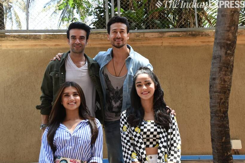 tiger shroff, ananya panday and tara sutaria promote student of the year 2