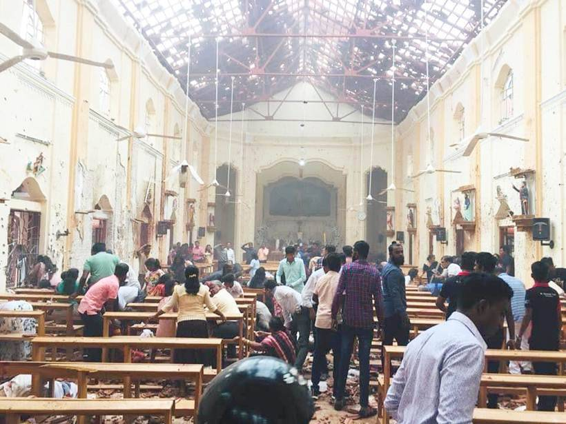 Multiple blasts rock Sri Lanka on Easter Sunday, churches and hotels targeted
