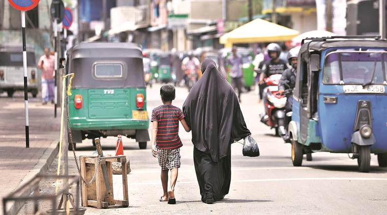 sri lanka face veil ban, sri lank bans face veil, covering face ban, srilanka covering face ban, sri lanka blasts, sri lanka bomb blasts, sri lanka bombings, blasts in sri lanka, face covering ban in sri lanka, sri lanka face covering ban, maithripala sirisena, world news, indian express