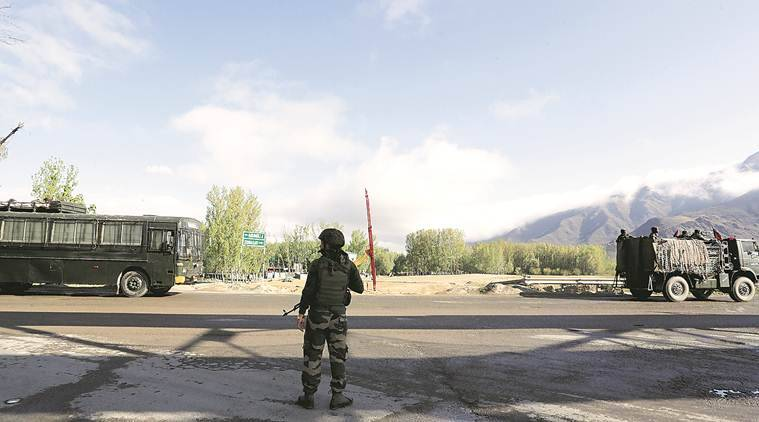 Traffic Ban Eased On Jammu And Kashmir Highway Stretch