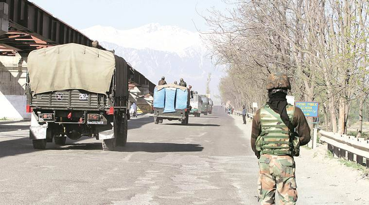 Civilian curbs on J&K highway to  be lifted next week