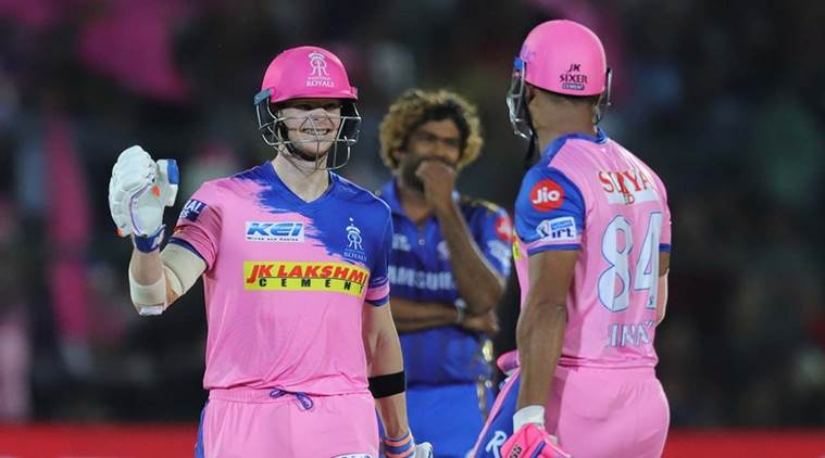 Ipl 2019, Rr Vs Mi: Cricket Fraternity Hails New Rajasthan Royals' Skipper Steve Smith For Leading From The Front