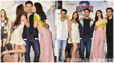 Student of the Year 2 trailer launch Tiger Shroff, Ananya Panday, Tara Sutaria, Karan Johar