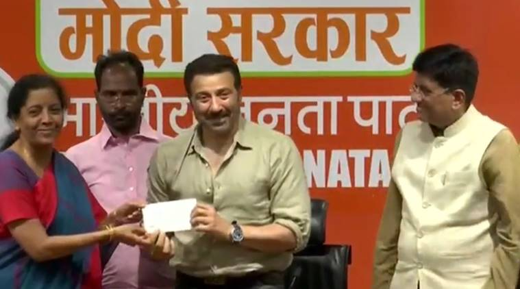 Actor Sunny Deol joins BJP, likely to be fielded from Punjab