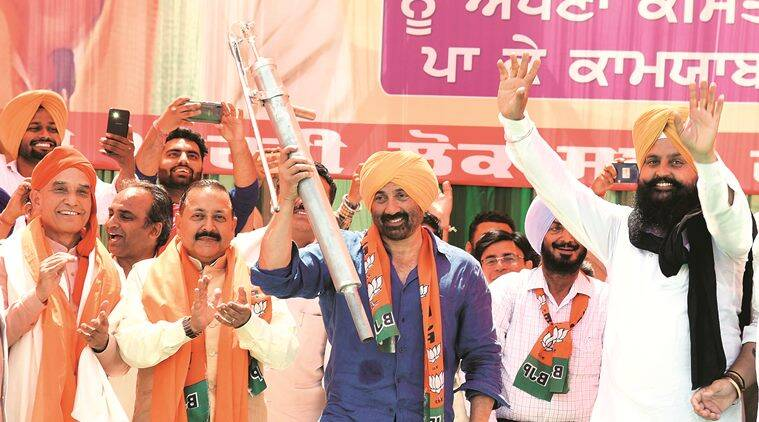 sunny deol, sunny deol election expense, sunny deol bjp, bjp mp sunny deol, sunny deol lok sabha, lok sabha elections, chandigarh news, election commission, indian express