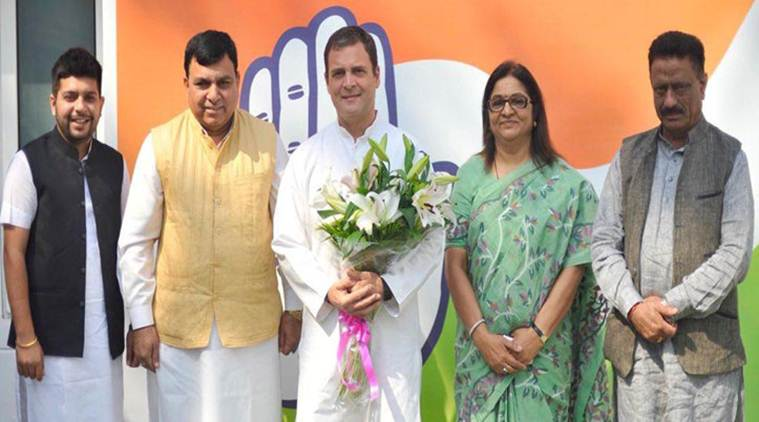 Suresh Chandel joined the Congress