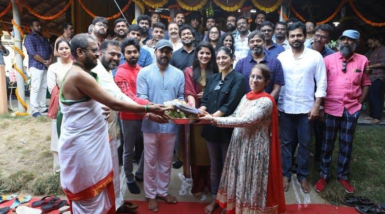 Suriya begins filming new project