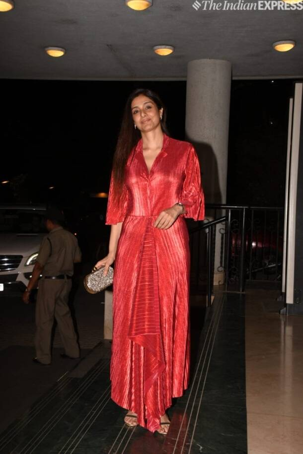 Tabu at Manoj Bajpayee birthday