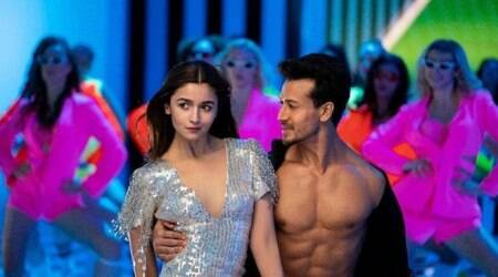 tiger shroff, alia bhatt in the student of the year 2 hook up song
