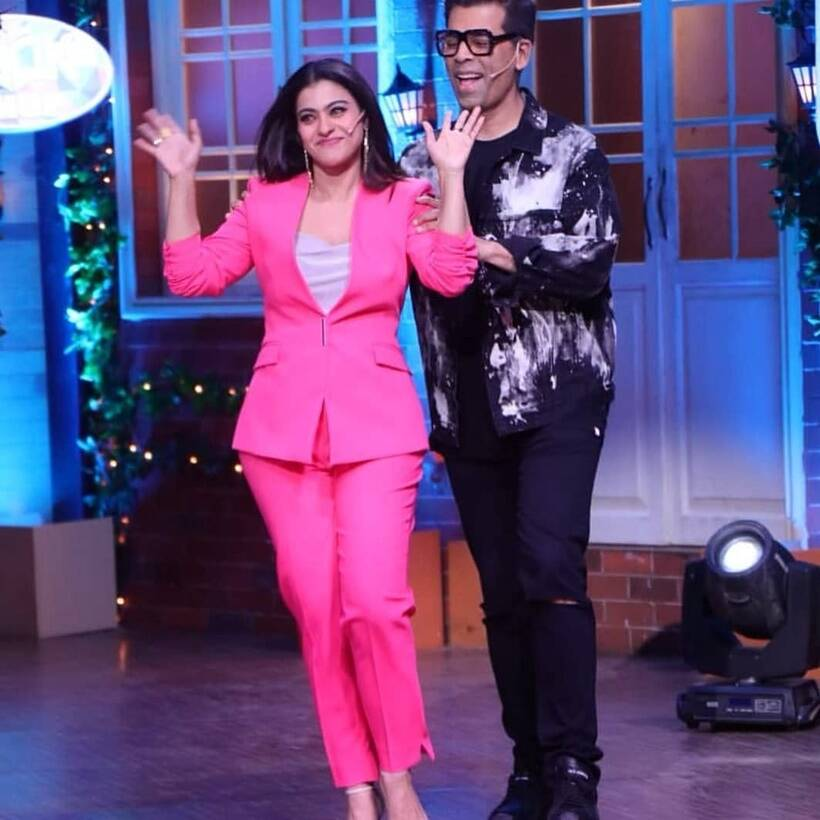 The Kapil Sharma Show photos kajol, karan