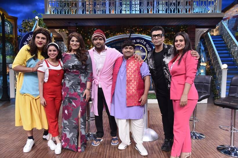 The Kapil Sharma Show, kajol, karan johar