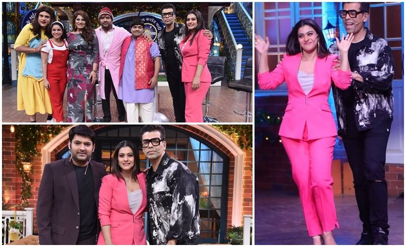 The Kapil Sharma Show photos kajol, karan johar