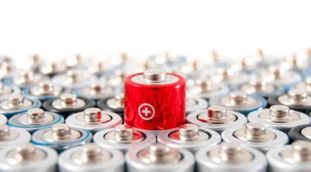 Battery types, Lithium-ion batteries, Physical sciences, Chemistry, Rechargeable batteries, Electric vehicle, Electric battery, Lithium, Electric vehicle battery, Research in lithium-ion batteries, Rensselaer, energy density, higher energy density, portable