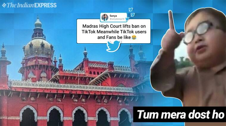 TikTok, TikTok ban, TikTok ban lifted, TikTok India, Madras High court, TikTok videos, Madras HC TikTok ban, India news, Indian express