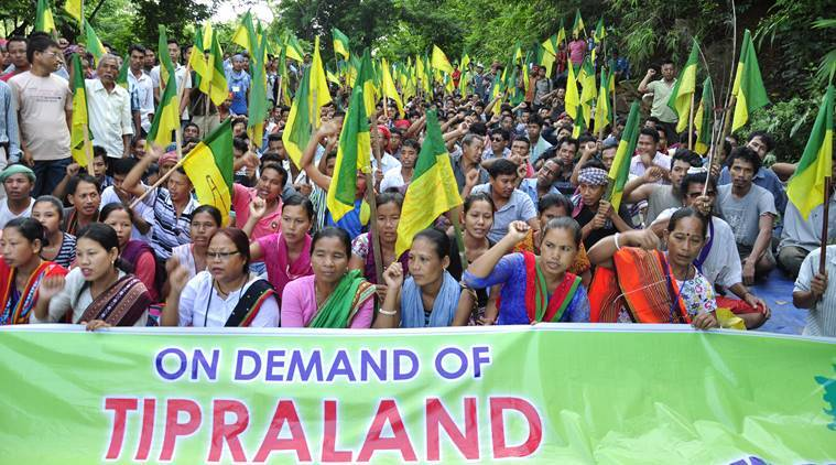 ipft, Indigenous People's Front of Tripura, ipft alliance with cpi(m), bjp-ipft alliance, tripura politics,