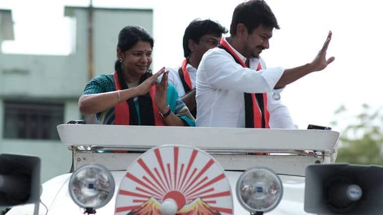 In Tamil Nadu, a rising sun and setting stars
