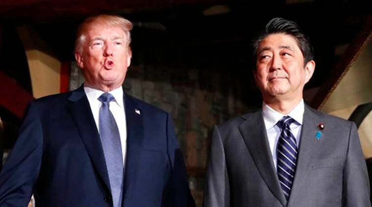 Trade, North Korea on agenda for Abe-Trump White House meeting on April 26