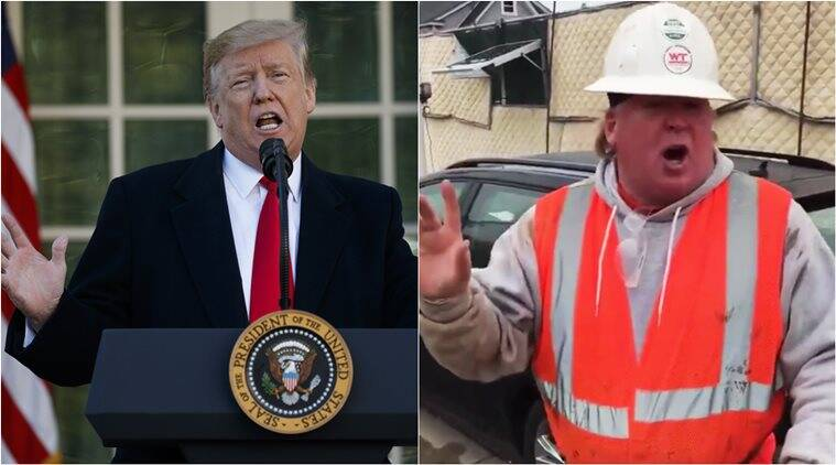 Video Of Construction Worker Goes Viral After 'tremendous' Impersonation Of Donald Trump