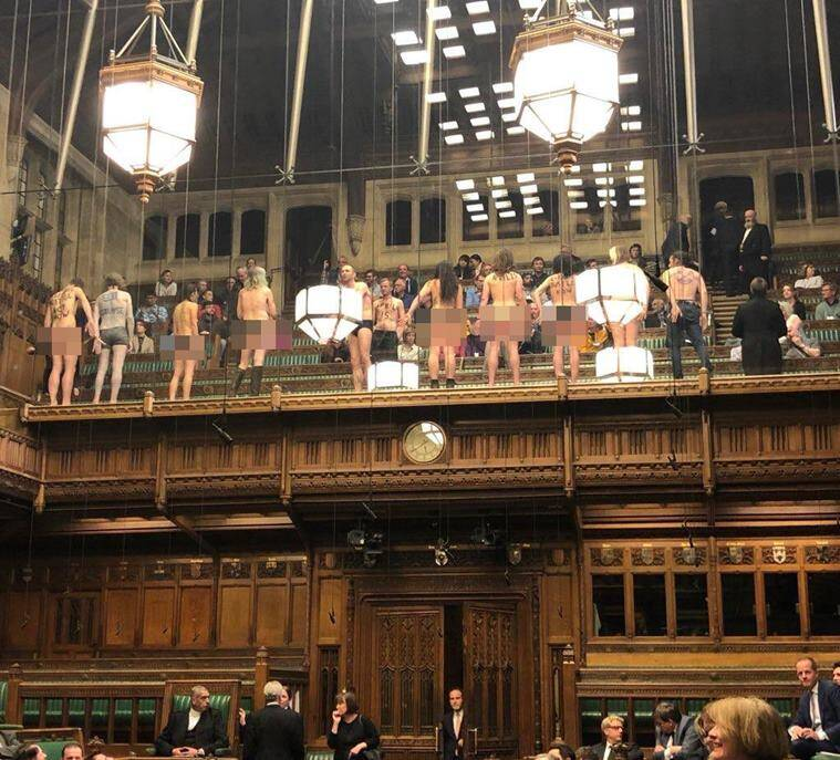 Image result for commons nude protest