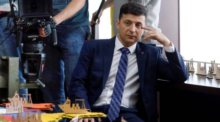 Party of Ukraine's new president is on track for big electoral victory