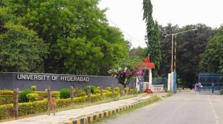 Hyderabad University, University of Hyderabad, Hyderabad anti-CAA protests, Hyderabad shaheen bagh, University of Hyderabad protests, Hyderabad news