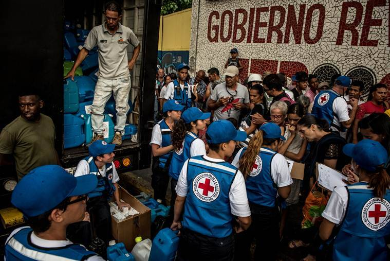 After years of denial, Venezuela's President allows aid to enter