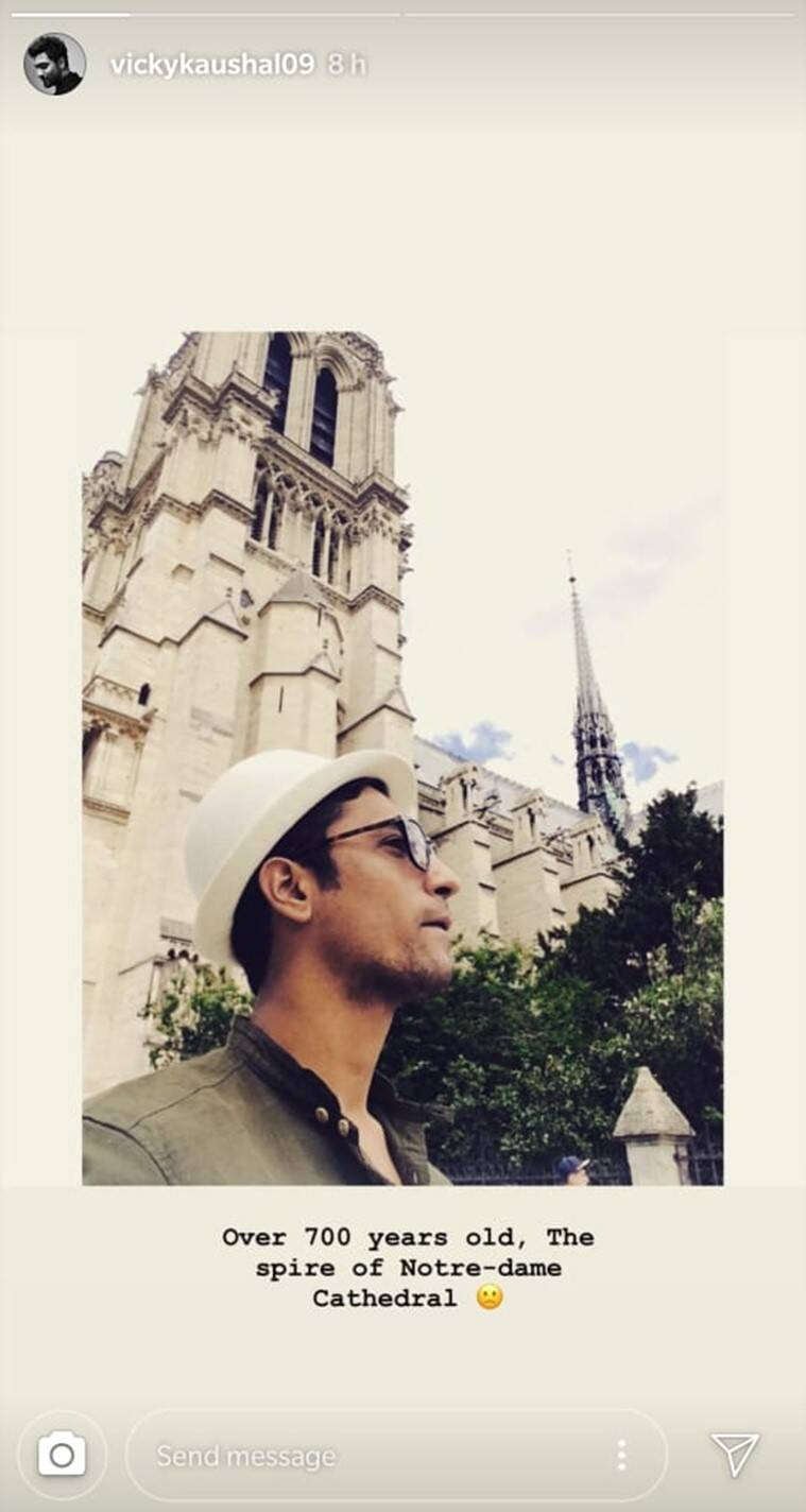 vicky kaushal notre dame cathedral