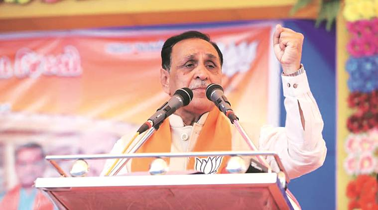 Don't mix 'petty' vikas issues with 'bigger' national security problems this election, Rupani tells voters