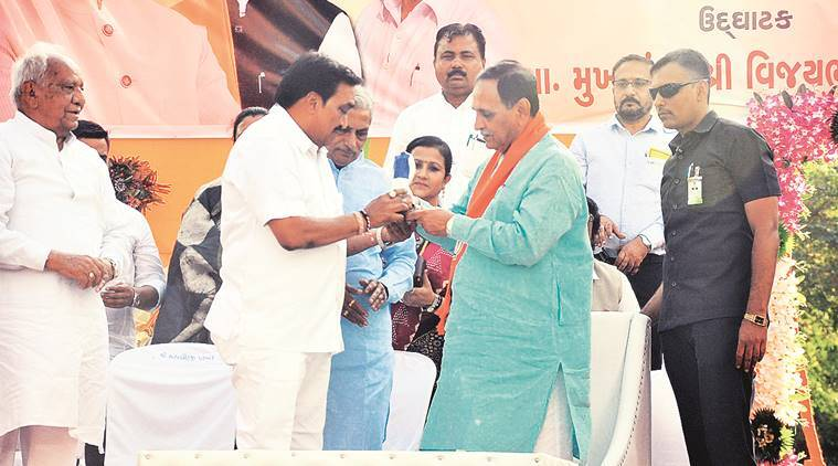This election is between nationalism & nepotism, says Rupani