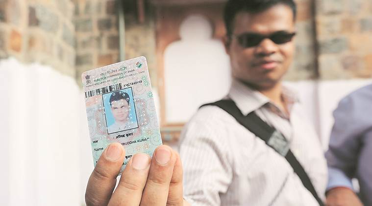 Delhi: For visually impaired, voter IDs in braille