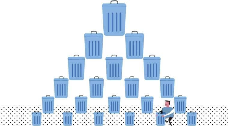domestic waste, lead in domestic waste, waste management, Tamil Nadu waste management, segregatng waste, recycling, World health Organisation, India News, Indian Express, Hazardous waste disposal, indian express