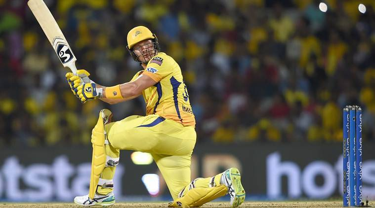IPL 2019, shane watson, shane watson batting, shane watson CSK, csk vs srh, chennai super kings, sunrisers hyderabad, shane watson csk, shane watson vs srh, ipl news