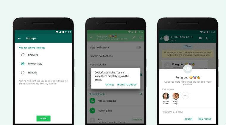 WhatsApp won't throw you into unwanted group chats anymore