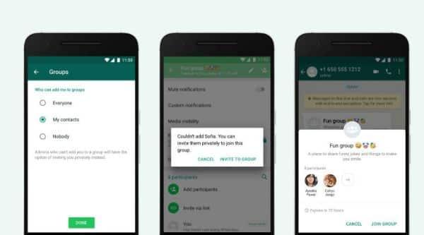 WhatsApp, WhatsApp new feature, WhatsApp update, WhatsApp invite system for groups, WhatsApp group invites, WhatsApp privacy feature, WhatsApp group settings feature, WhatsApp invite system