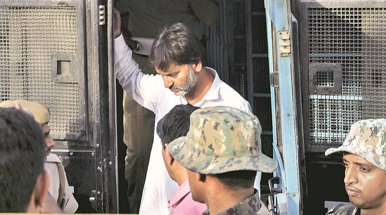 JKLF chief Yasin Malik on hunger strike against NIA custody, 'seriously ill', alleges family